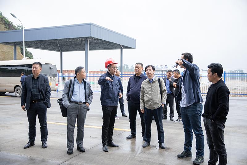 国机集团苏美达国际技术贸易有限公司到川威集团连界基地调研交流