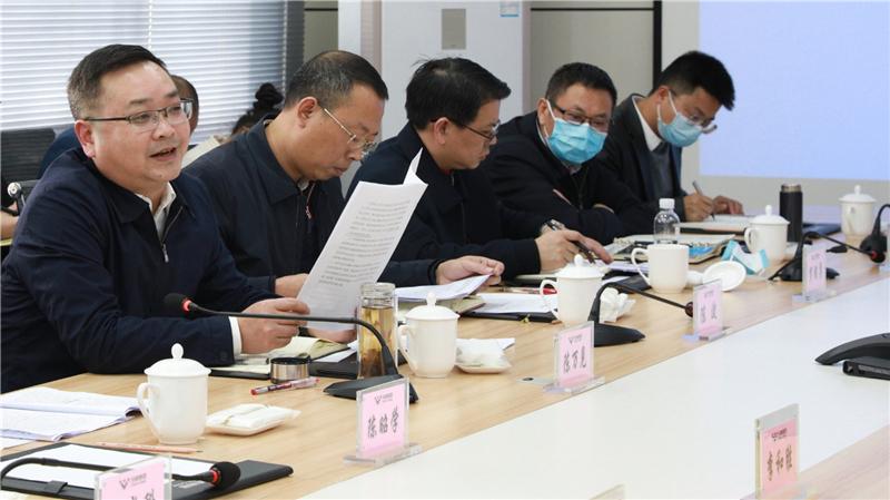 内江市副市长陈万见一行到川威调研