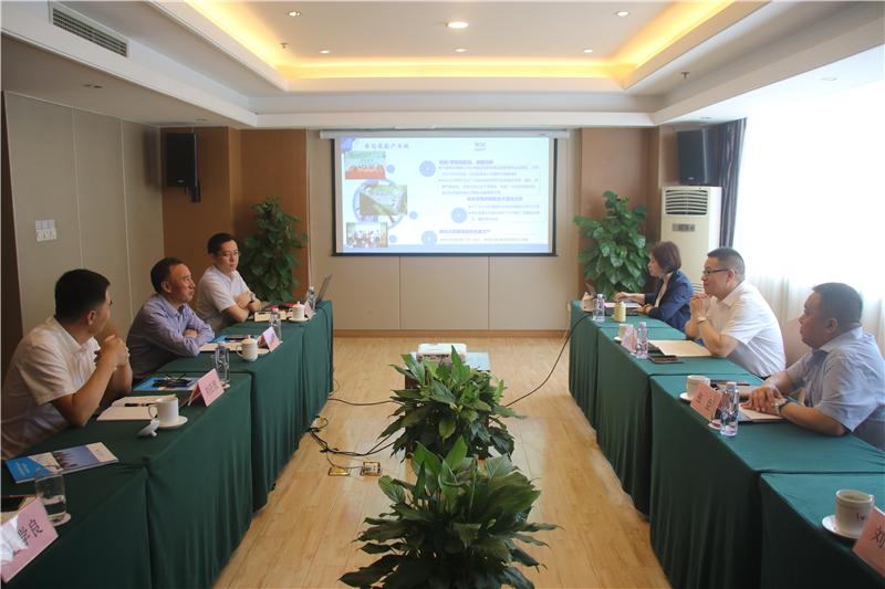 上海汉兴能源科技公司到川威交流洽谈